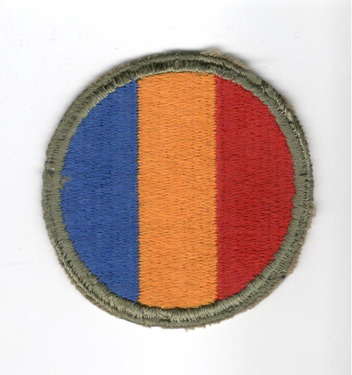 WW 2 US Army Replacement & School Command Patch Inv# J320