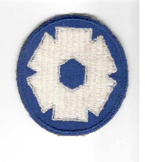 WW 2 US Army 6th Service Command Patch Inv# A599