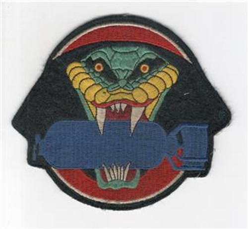 "4-1/4"" WW 2 864th Bomb Squadron 494th Bomb Group 7th Bomber CMD Patch Inv# P318"