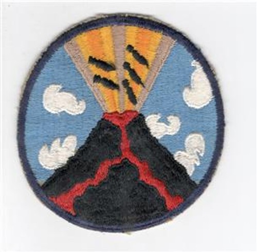 "4"" 1946 / 1947 USAAF 23rd Bomb Squadron (VH) 5th Bomb Group Patch Inv# L173"
