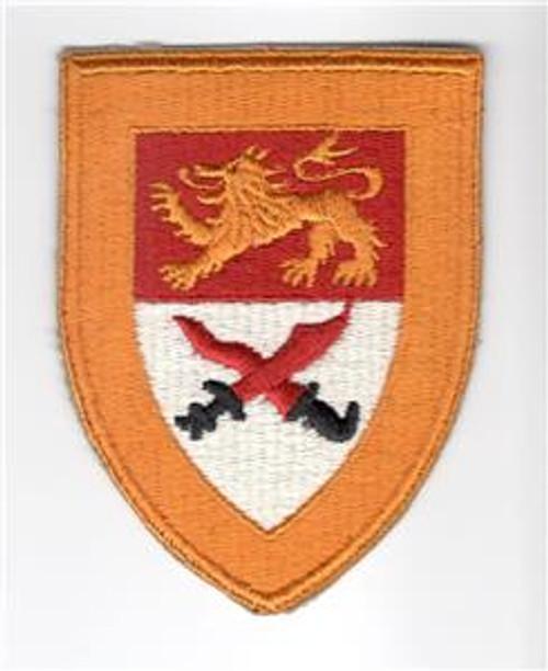 VHTF WW 2 US Army 17th Cavalry Squadron Greenback Patch Inv# M190