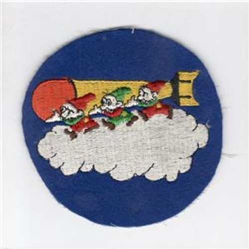 WW 2 US Army 11th Antisubmarine / 831st Bombardment Squadron Patch Inv# G986