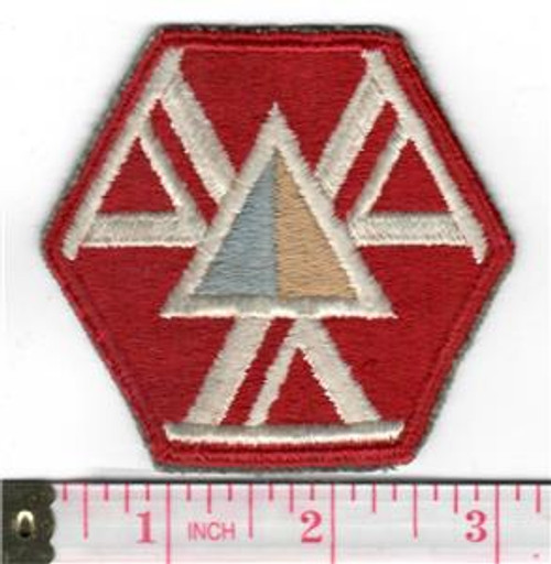 WW 2 US Army 466th Quartermaster Battalion (Mobile) Patch Inv# S885