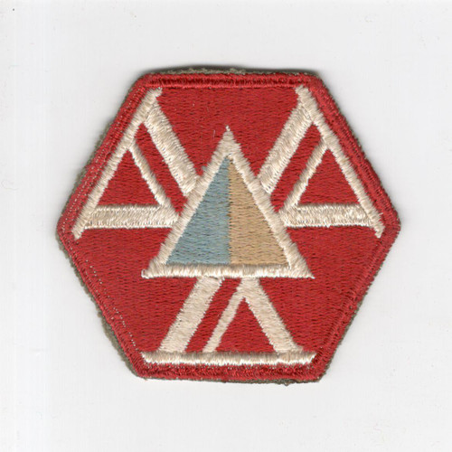 WW 2 US Army 466th Quartermaster Battalion (Mobile) Patch Inv# H920