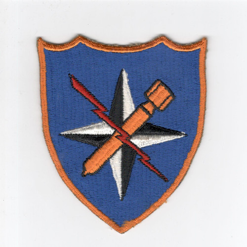 """VHTF 4-5/8"""" WW 2 US AAF 340th Bomb Group 12th Air Force Patch Inv# G992"""