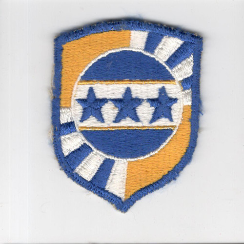 Very Rare Original Armed Forces Information School Patch Inv# F597