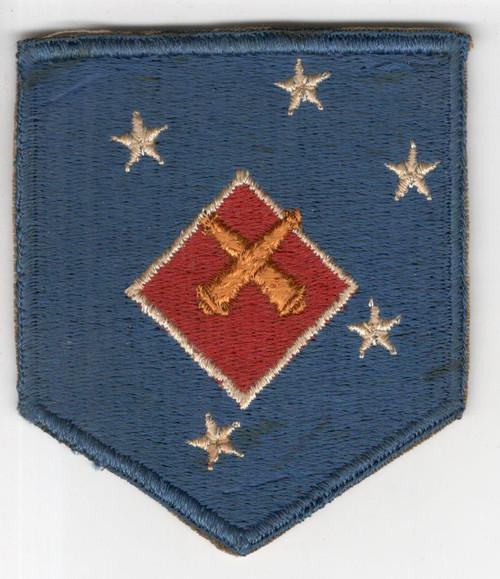 WW 2 USMC 1st Marine Amphibious Corps Artillery Battalion Patch Inv# M978