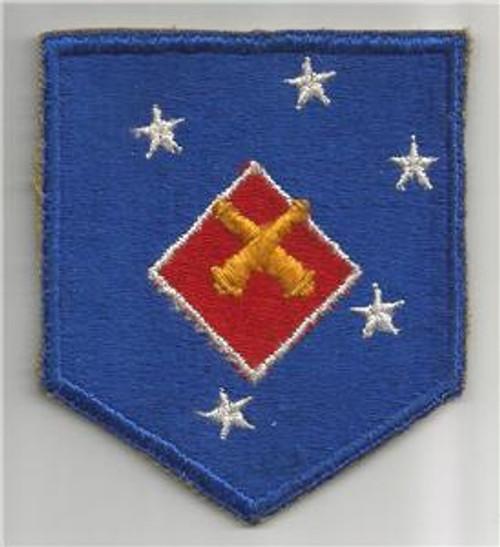 WW 2 USMC 1st Marine Amphibious Corps Artillery Battalion Patch Inv# G174