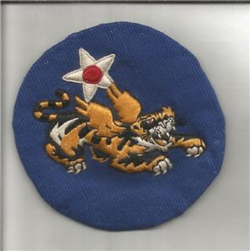 "1942 / 1943 China Air Task Force Silk Patch 2-1/2"" Inv# G677"