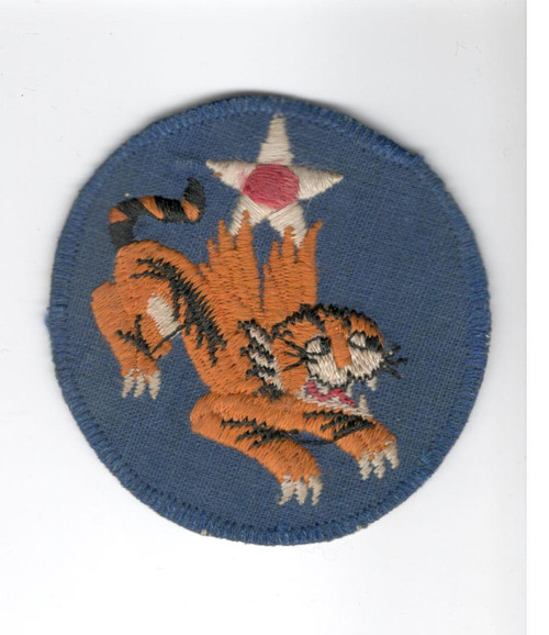 "1942 / 1943 China Air Task Force Patch 2-1/2"" Inv# F968"