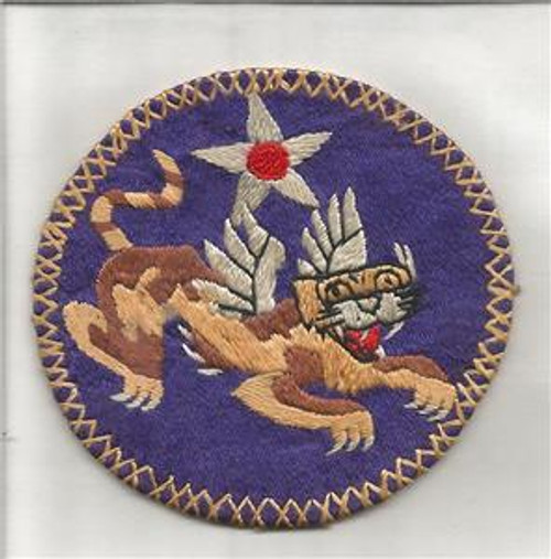 "1942 / 1943 China Air Task Force Patch 2-5/8"" Inv# G675"