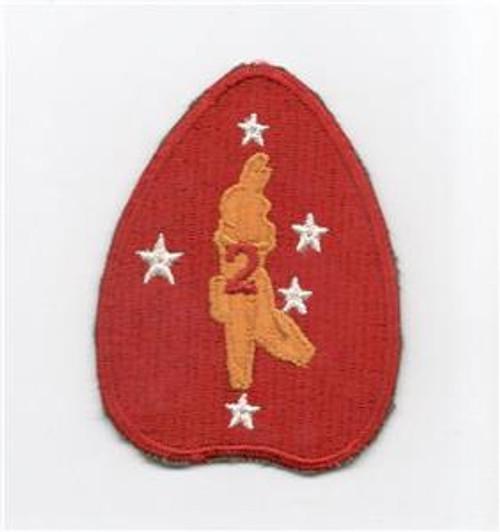 WW 2 USMC 2nd Marine Division Patch Inv# E944