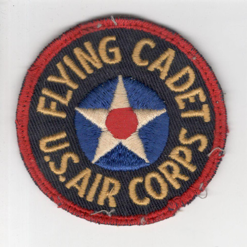 Off Uniform Pre WW 2 US Air Corps Flying Cadet Twill Patch Inv# P177