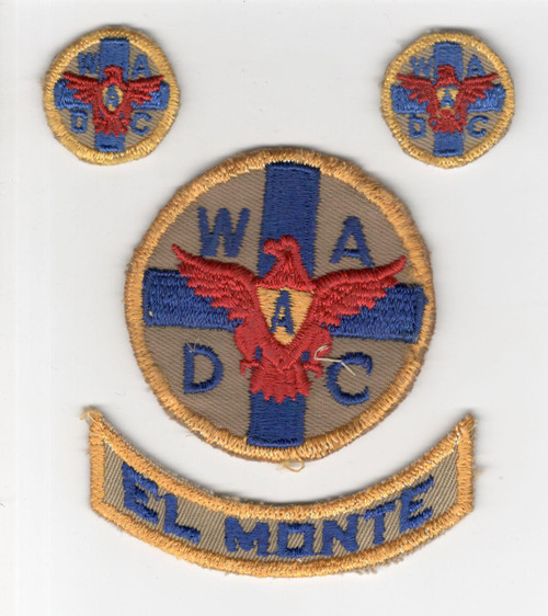 Set Of 4 WW 2 Women's Ambulance & Defense Corps Of America Patches Inv# R024