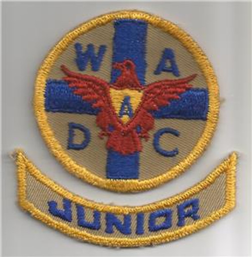 WW 2 Women's Ambulance & Defense Corps Of America Patch & Tab Inv# G536