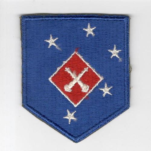 WW 2 USMC 1st Marine Amphibious Corps Artillery Battalion Patch Inv# H506