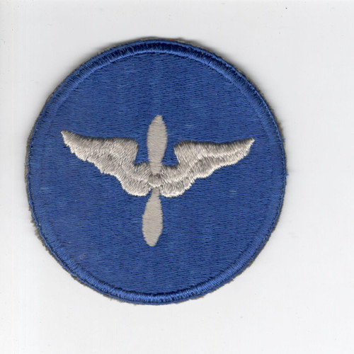 Rare Silver Wing & Prop WW 2 US Army Air Force AC Cadet Patch Inv# E981