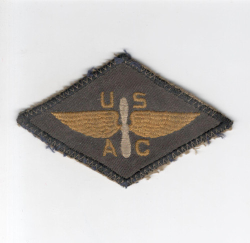 Very Rare Off Uniform WW 2 United States Air Cadet Twill Patch Inv# G154