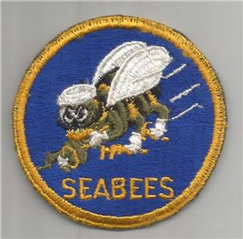 Fare WW 2 US Navy Seabees Patch Inv# H479