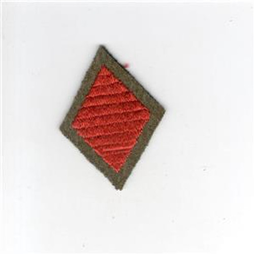 "2"" Pre WW 2 US Army 5th Infantry Division Wool Cap Patch Inv# G003"