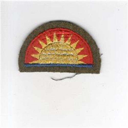 "2"" Pre WW 2 US Army 41st Infantry Division Wool Cap Patch Inv# G014"