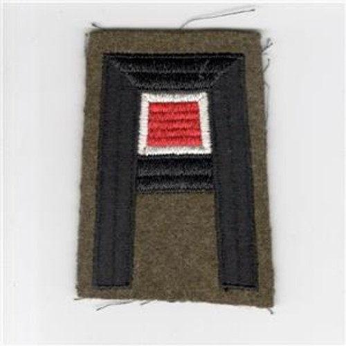 Pre WW 2 US Army 1st Army Engineer Wool Patch Inv# F450