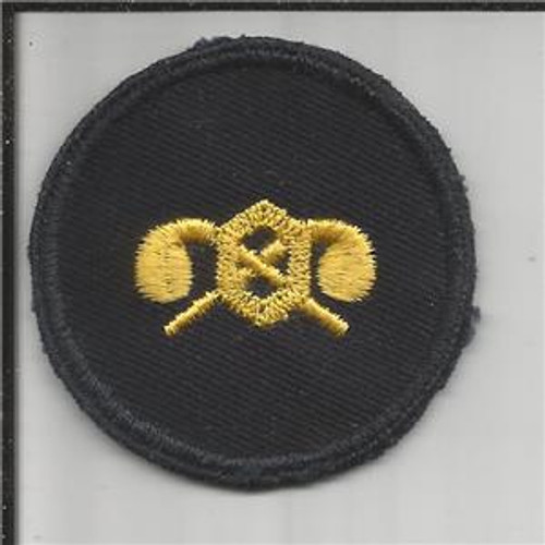 WW 2 US Army Chemical Corps Cap Patch Inv# K220