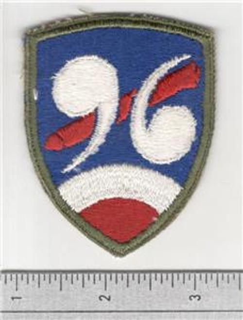 WW 2 US Army 96th Chemical Mortar Battalion Patch Inv# B332