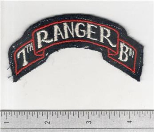 WW 2 US Army 7th Ranger Battalion Patch Inv# B266