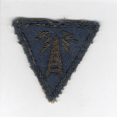 WW 2 US Army Air Force Communications Specialist Bullion Patch Inv# Z768