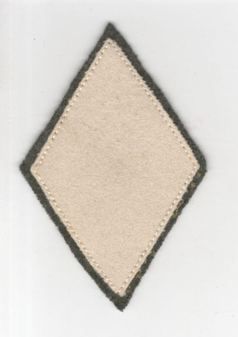 "3-1/2"" X 2-1/2"" WW 2 USMC Marine Corps Discharge Diamond Wool Patch Inv# H939"