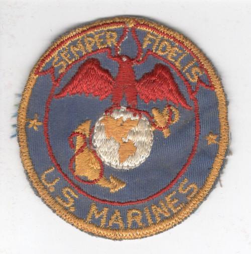 WW 2 USMC BX Mirror Patch Inv# X519
