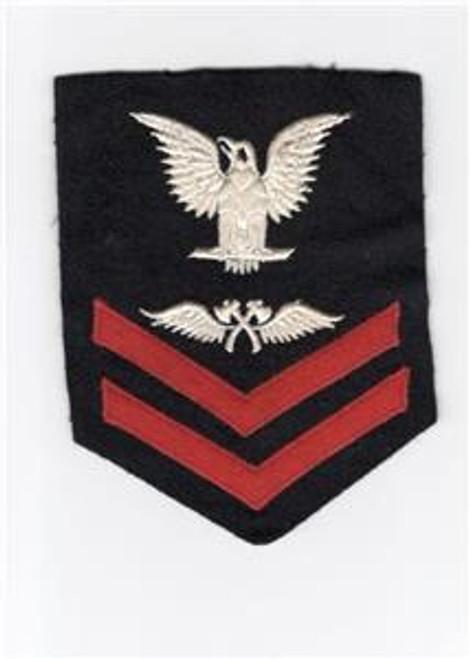 VHTF WW 2 US Navy 2nd Class Aviation Carpenter's Mate Rate Patch Inv# J721