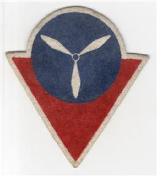 VHTF WW 2 US Homefront High School Victory Corps Air Wool Patch Inv# R638