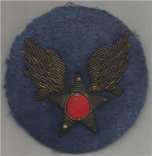 Bullion WW 2 Army Air Force Patch Inv# S628