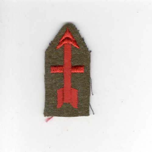 "2"" Pre WW 2 US Army 32nd Infantry Division Wool Cap Patch Inv# G010"