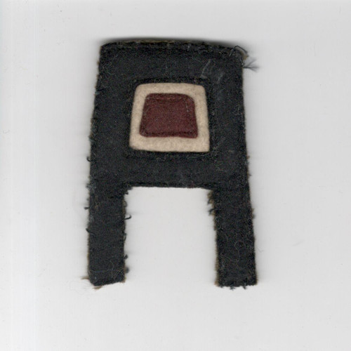 Pre WW 2 US Army 1st Army Medical Layered Wool Patch Inv# F472