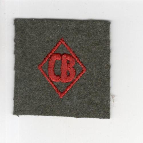 VHTF Marine Corps WW 2 USMC Construction Battalion CB Cuff Striker Inv# M909