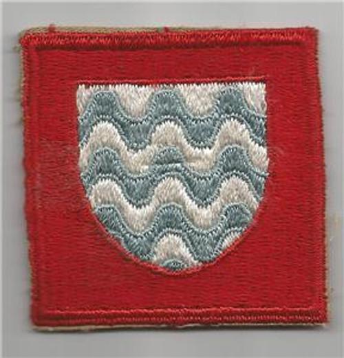 HTF Light Blue WW 2 US Army 15th Army Group Patch Inv# G063