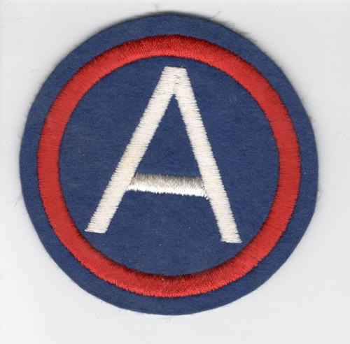 "4"" WW 2 US Army 3rd Army Wool Patch Inv# V416"