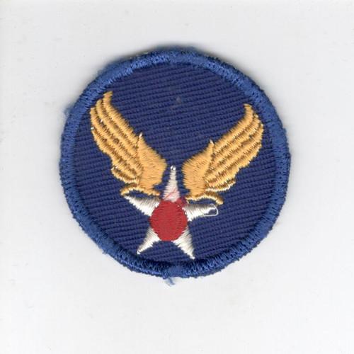 "HTF WW 2 US Army Air ForceTwill Cap 2"" Patch Inv# Z679"
