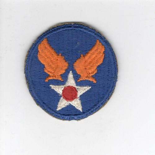 "HTF WW 2 US Army Air ForceCap 2"" Patch Inv# Z682"