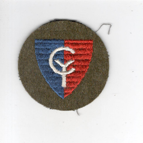 "2"" Pre WW 2 US Army 38th Division Cap Patch Inv# G013"