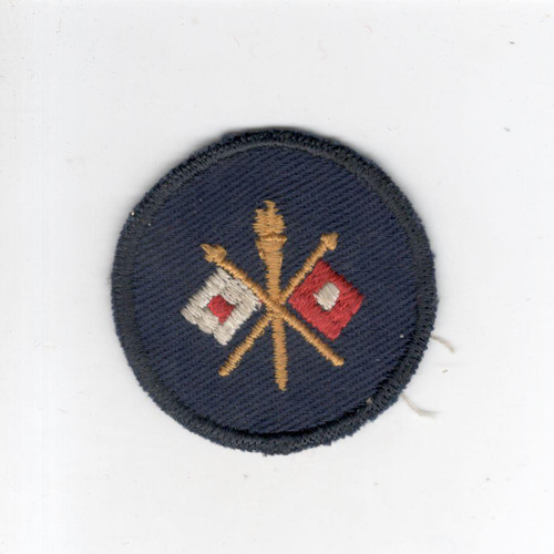 WW 2 US Army Signal Corps Cap Patch Inv# G031