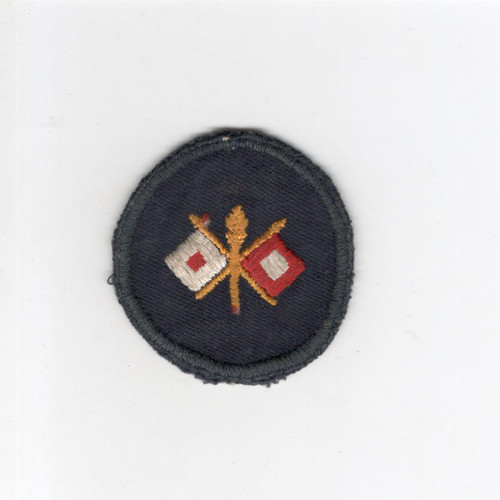 WW 2 US Army Signal Corps Cap Patch Inv# G100
