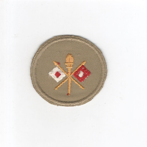 WW 2 US Army Signal Corps Cap Patch Inv# G099