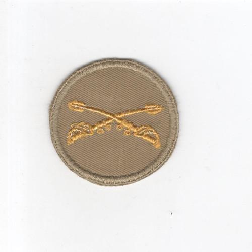 WW 2 US Army Cavalry Cap Patch Inv# G087