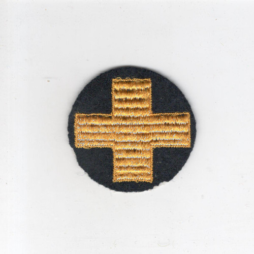 "2"" WW 2 US Army 33rd Infantry Division Wool Cap Patch Inv# G362"