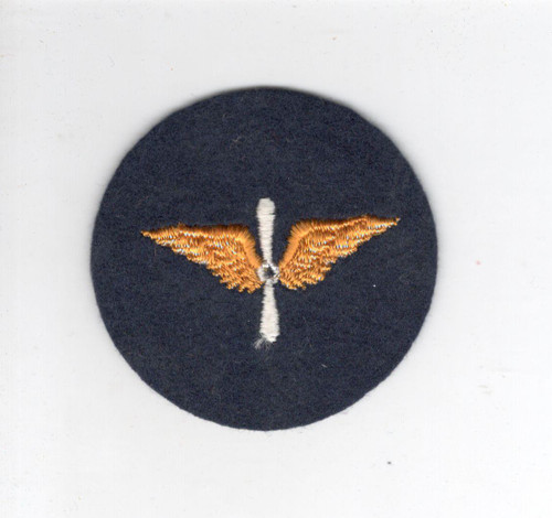 WW 2 US Army Air Corps Cap Patch Inv# D104