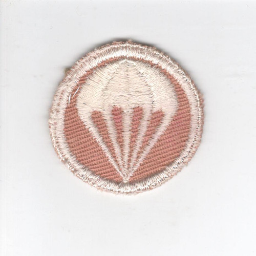 WW 2 US Army Paratroops Quartermaster Cap Patch Inv# V850